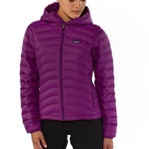 New Patagonia Down Sweater Hoodie Purple Medium